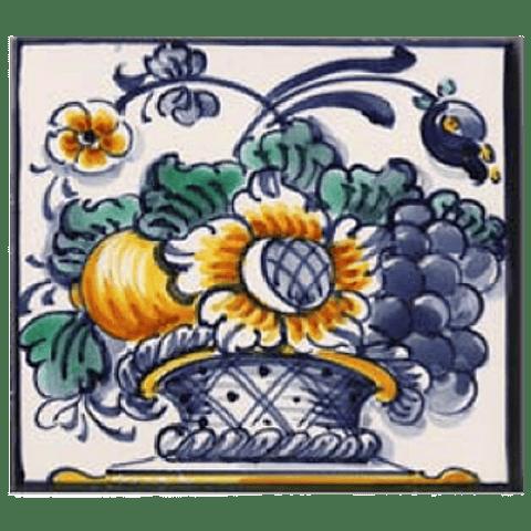 Cesto de Flores 5 - Azul - ANB