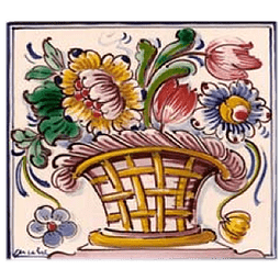 Flower basket #6 - Color - ANB