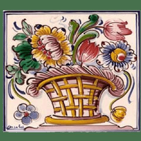 Flower basket #6 - Color - ANB