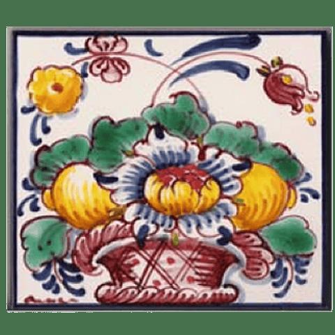 Flower basket #9 - Color - ANB