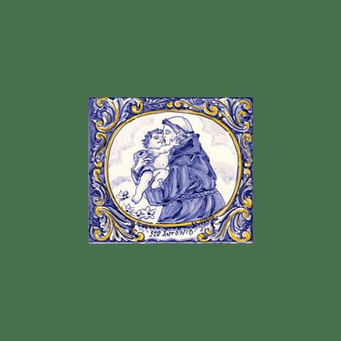 Azulejo Santo António azul 2 - TQ