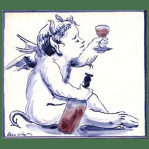 Azulejo Individual Anjo Diabo 1 ANB