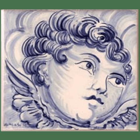 Azulejo Individual Anjo 4 ANB