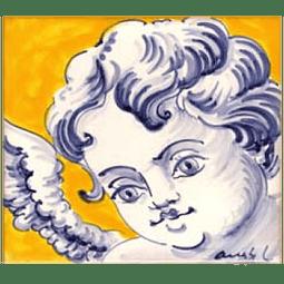 Azulejo Individual Anjo 8 ANB