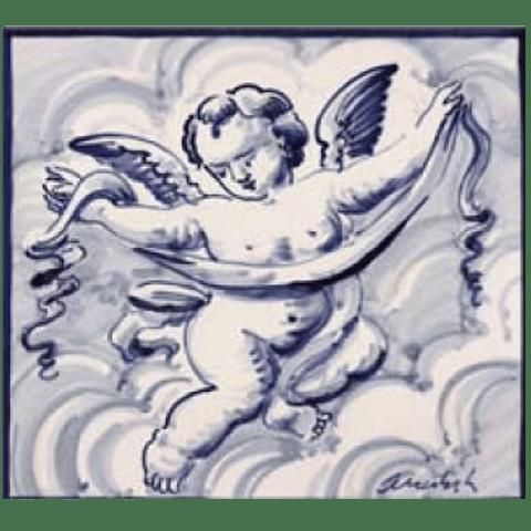 Azulejo Individual Anjo 1 ANB