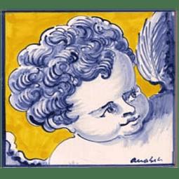 Azulejo Individual Anjo 12 ANB