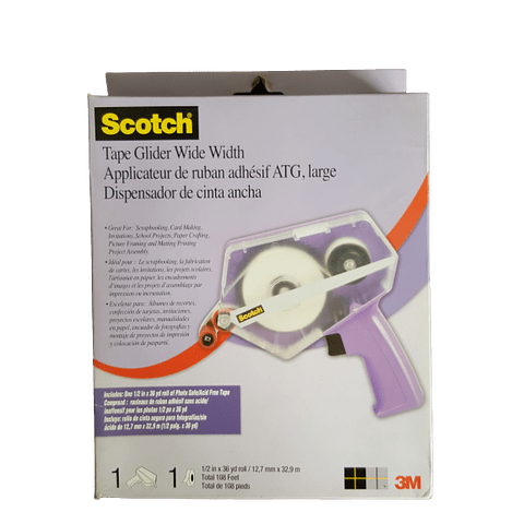 Dispensador de Cinta Doble Contacto Scotch 3M