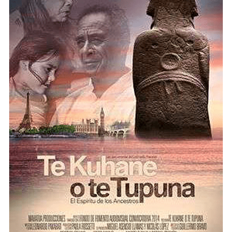 DVD Te Kuhane o te Tupuna / El Espíritu de los Ancestros.