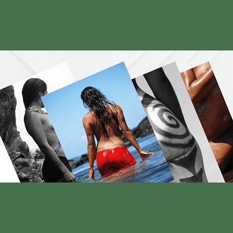 Set de tarjetas fotográficas