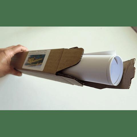 Photographic poster-box