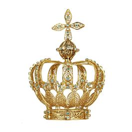 Coroa em filigrana com cristais