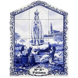 Azulejo de Fátima 12 peças