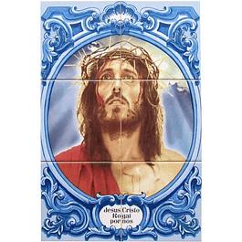 Azulejo Jesus Cristo 6 peças
