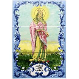 Azulejo Rainha Santa Isabel 6 peças