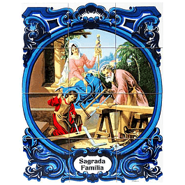 Azulejo Sagrada Família 6 peças