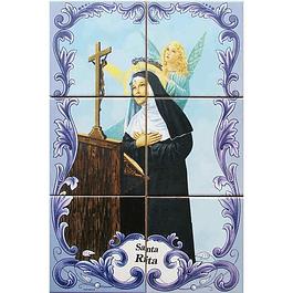Azulejo de Santa Rita 6 peças
