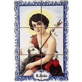 Azulejo de São João 6 peças