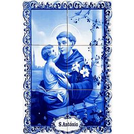 Azulejo de Santo António 6 peças