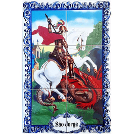 Azulejo de São Jorge 6 peças