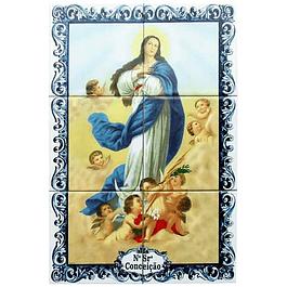 Azulejo de Nª Senhora da Conceição 6 peças