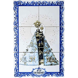 Azulejo Nª Senhora da Nazaré 6 peças