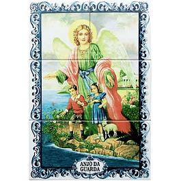 Azulejo Anjo Guarda 6 peças