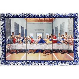 Azulejo Última Ceia 6 peças