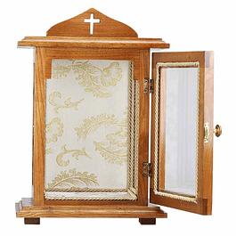 Oratório de madeira 82 cm