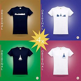 T-shirt Original 4x - Oferta Especial