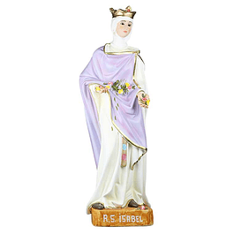 Rainha Santa Isabel 50 cm