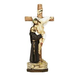 São Francisco com Cristo na cruz
