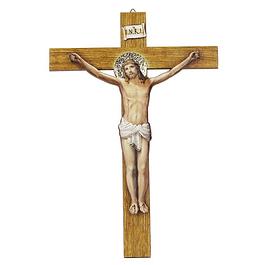 Crucifixo De Pendurar Colorido