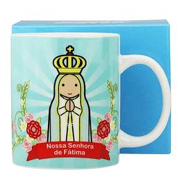 Caneca de Nossa Senhora de Fátima