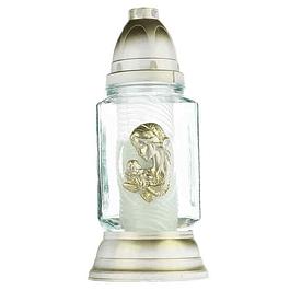 Candeeiro de vidro para velas
