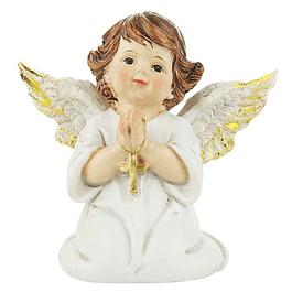 Anjinho a rezar com cruz