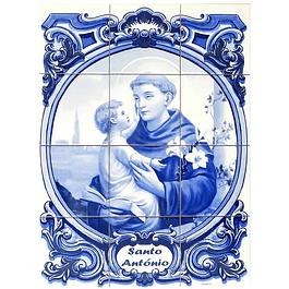 Azulejo de Santo António 12 peças