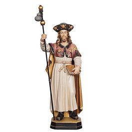 Estátua de São Tiago - madeira