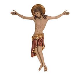 Estátua Cristo Cimabue sem cruz - madeira
