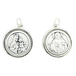 Medalha de Nossa Senhora do Carmo e Sagrado Coração de Jesus