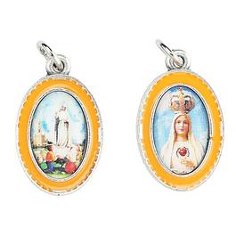 Medalha duas faces Nossa Senhora de Fátima