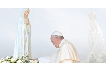 Do you know the story of the statue placed in Chapel of the Apparitions?