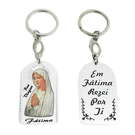 Keychain with image of Our Lady