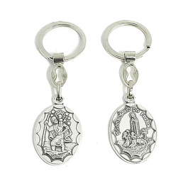 Appearance Keychain of Our Lady of Fatima
