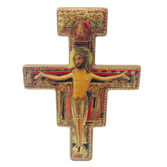 Placa cruz de São Damião
