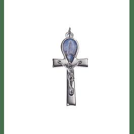 Medalha Cruz com Aparição de Fátima