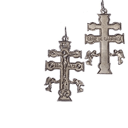 Medalha cruz de caravaca
