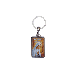 Keychain with image of Our Lady of Fatima