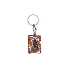 Wooden Keychain with Appearance