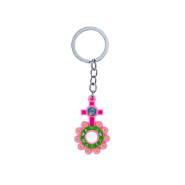 Keychain in Colored Ten