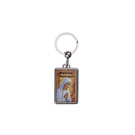 Our Lady of Fátima Keychain